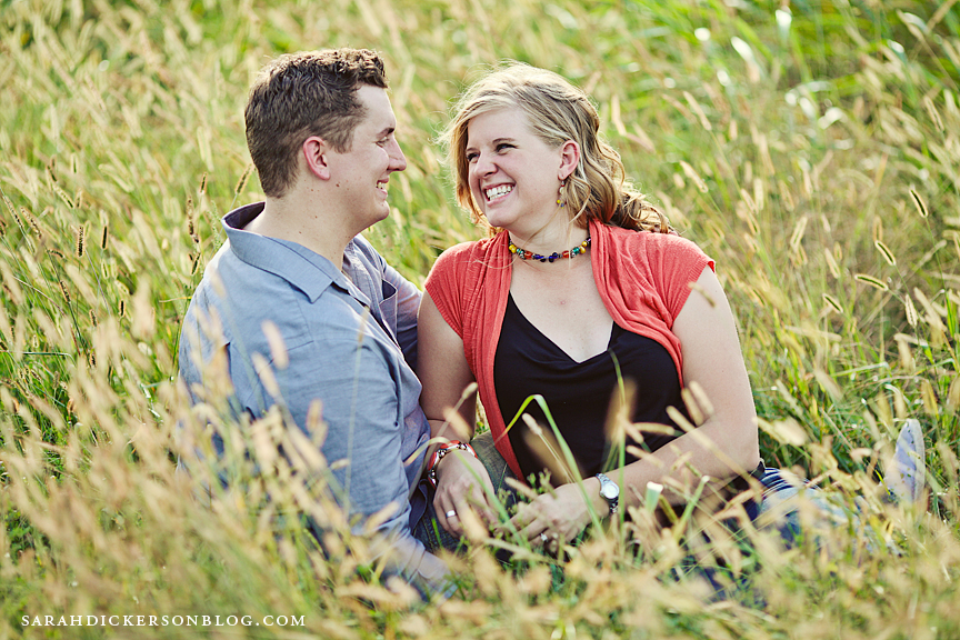Shawnee Mission Park engagement photographs