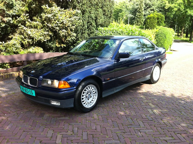 original holland netherlands amsterdam stock bmw 1995 318 almere e36 318is