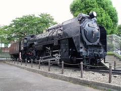 Locomotive at the park (Matt-san) Tags: japan japanese tracks trains rails disused retired photosjapan