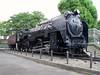 Locomotive at the park (Matt-The Mechanic) Tags: japan japanese tracks trains rails disused retired photosjapan
