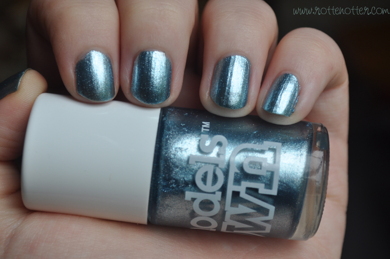 models own blue moon nail polish notd