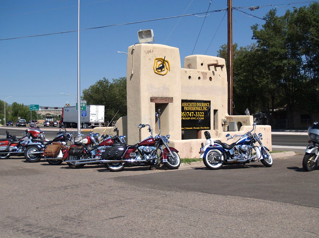 Bike Rally at Associated Insurance Professionals in Espanola