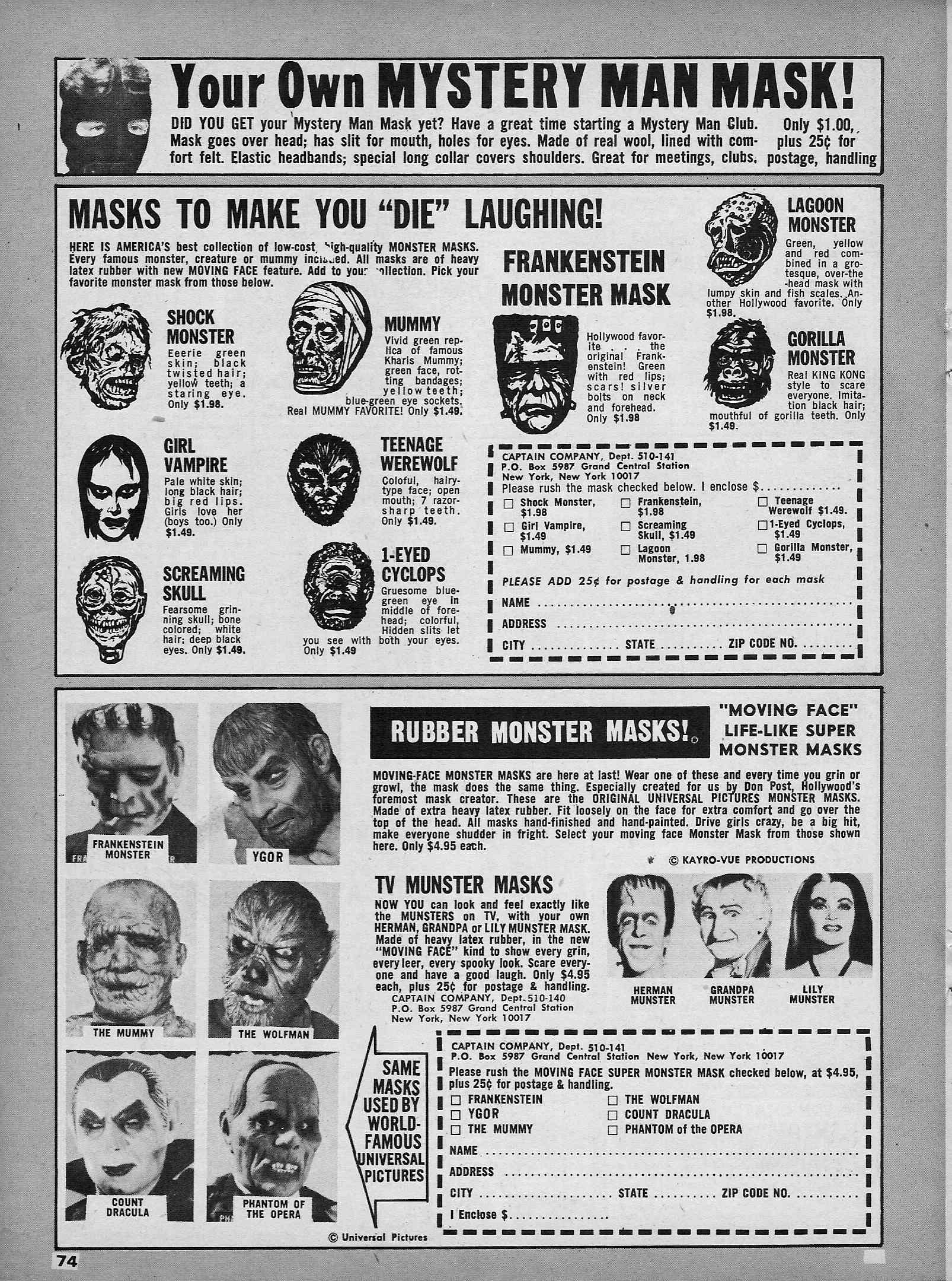 Halloween Mask M-ad-ness! | Branded in the 80s
