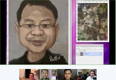 Kempton Speedpaint Google+ Hangout Caricature - by Cliff pix 36
