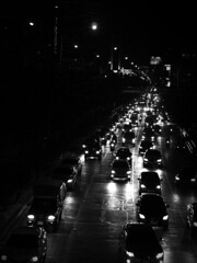 (A' s) Tags: bw white black cars pen thailand bangkok f14 voigtlander olympus 40mm jam nokton ep1