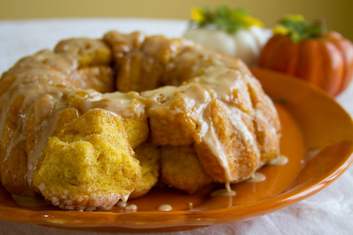 Pumpkin Monkey Bread - 9