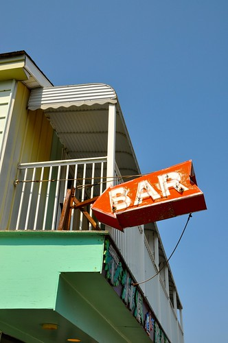 The Bar - Neon Sign - Ocean City MD Boardwalk
