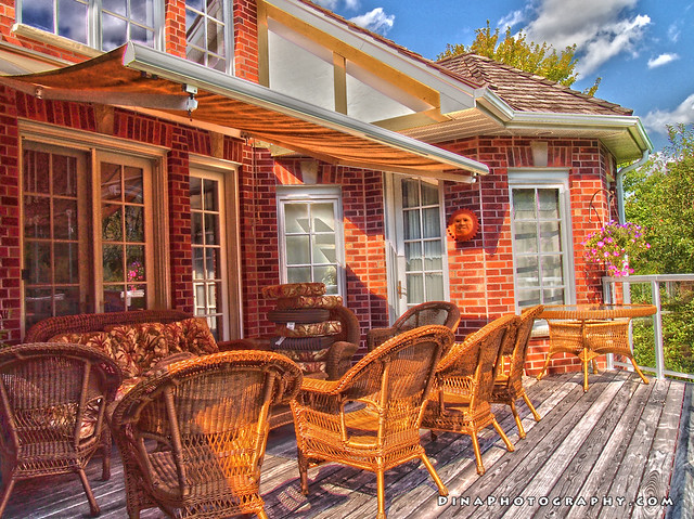 Thames River (Ontario) in HDR - Patio