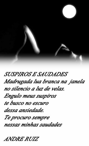 SUSPIROS E SAUDADES by amigos do poeta
