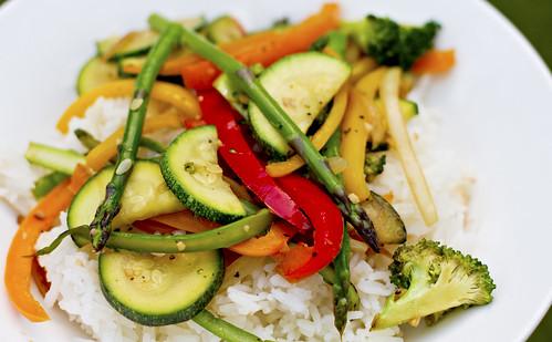 easy veggie stir fry