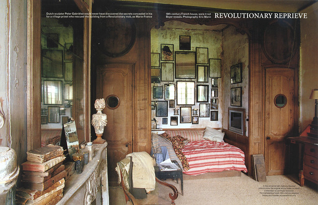 "Le Château in ""World of Interiors"" 2004 July issue- 1"