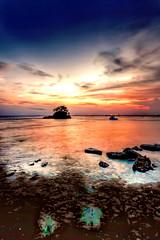 #850C3104H- Inspiring the sunset Melawai (Zoemies...) Tags: sunset beach nature clouds hdr inspiring balikpapan melawai zoemies