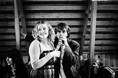 110922-812 (the un-kodak moment) Tags: wedding blackandwhite bw guy film beer lady night self 35mm finland kodak grain olympus 135 karelia developed om2n tmaxp3200 epson4490 zuiko50mmf18 d76id11