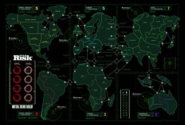 Risk: Metal Gear Solid - Custom Map