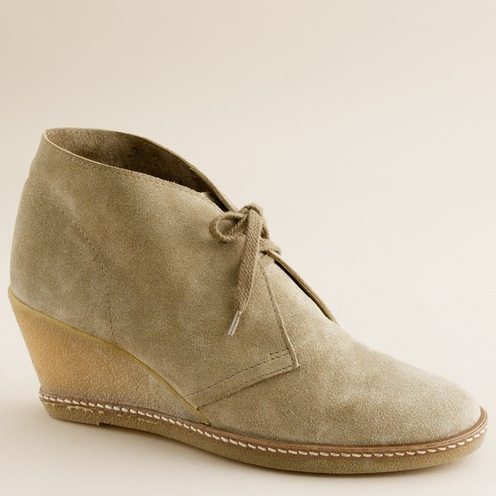 JCREW WEDGE BOOT