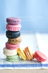 ladure macaroons (mwhammer) Tags: summer stilllife color dessert happy bright unique vivid delicious editorial blogged gotham overhead stacked arranged macaroons macarons lickingtheplate flavorsome melinahammer foodandpropstyling