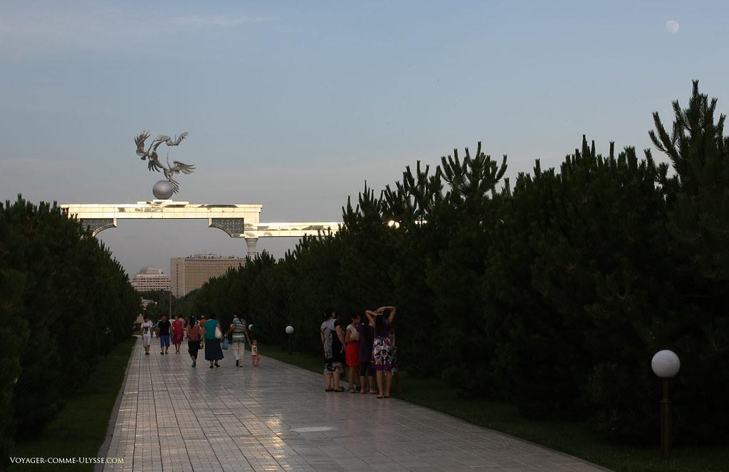 La cigogne est un symbole de paix