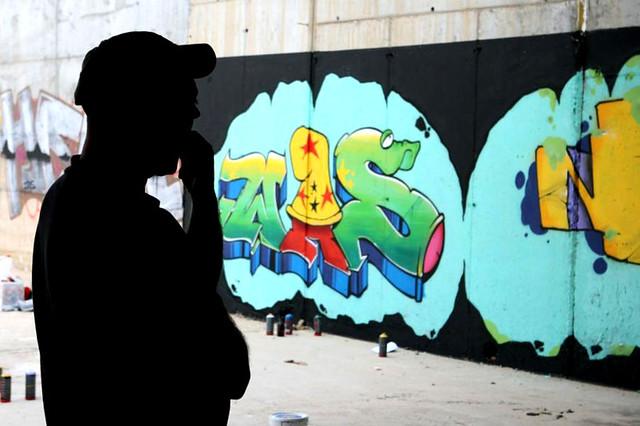 001 WAS GRAFFITI MALAGA