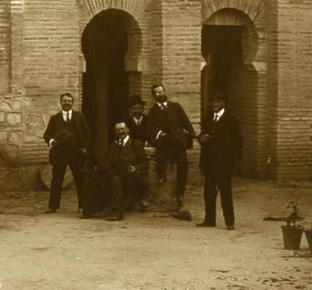 Mezquita del Cristo de la Luz en 1913. Fotografía de Luis Calandre Ibáñez