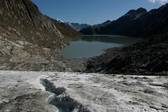 Oberaargletscher ( Gletscher - Glacier ) mit Oberaarsee ( BE - 2`303m - Stausee - See - Lac - Lake - Bergsee ) im Grimselgebiet in den Alpen - Alps im Berner Oberland im Kanton Bern in der Schweiz (chrchr_75) Tags: hurni christoph schweiz suisse switzerland svizzera suissa swiss kantonbern chrchr chrchr75 chrigu chriguhurni 1109 september 2011 hurni110923 oberaarsee bergsee stausee see lac lake gletscher glacier alpen alps chriguhurnibluemailch september2011 albumzzz201109september albumgletscherimkantonbern ghiacciaio 氷河 gletsjer berner oberland oberaar oberaargletscher grimsel grimselgebiet