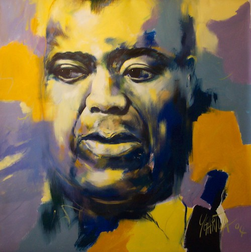 Louis Armstrong - Painting -- Original