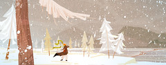 WINTER (Studio Spoelder) Tags: wood winter mountain snow storm cold tree ice water rock pine century wind retro blizzard mid vanaa