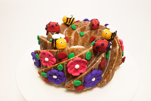 Spring Theme Cake