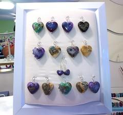 Pendant Display (LushLampwork) Tags: uk glass booth stand beads display handmade fair malvern lush lampwork pendant focal juliefountain lushlampwork