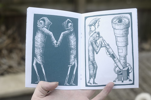 Phlegm Illuminated Alphabet Book