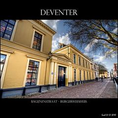 Deventer - Burgerweeshuis (Hans van Bockel) Tags: city architecture photoshop buildings nikon raw nef hometown cities canvas d200 hdr stad deventer photomatix rijksmonument 1024mm rm12414