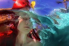 crystal summer (leslie.june) Tags: underwater surreal aquatic mermaid redhair underwaterphotography lesliejunephotography underwaterportait lesliejuneunderwater