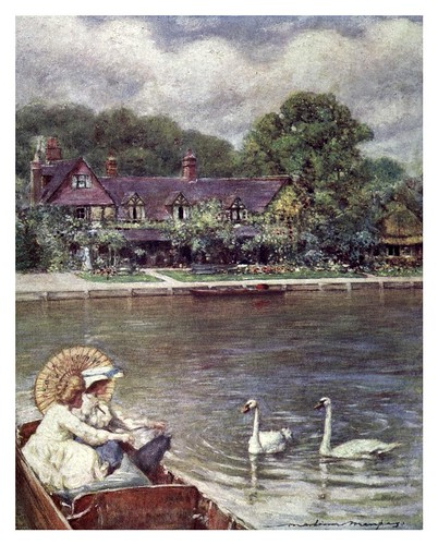 002-Streatley -The Thames-1906- Mortimer Menpes
