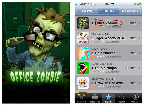 Office Zombie - Free iPhone App