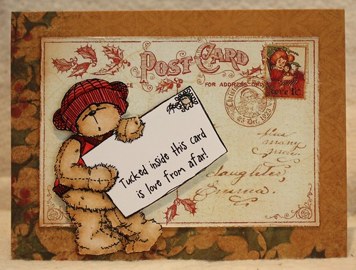 Teddy Bo Postcard