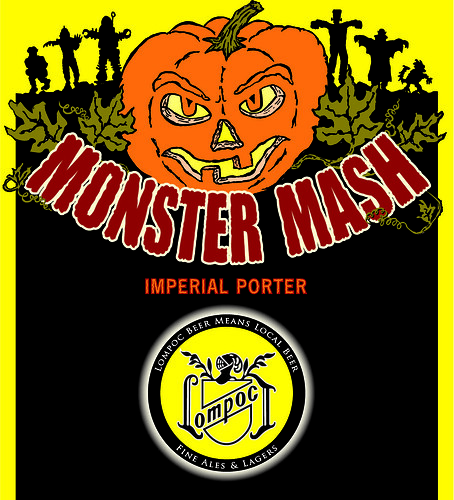 Monster Mash Imperial Porter From Lompoc