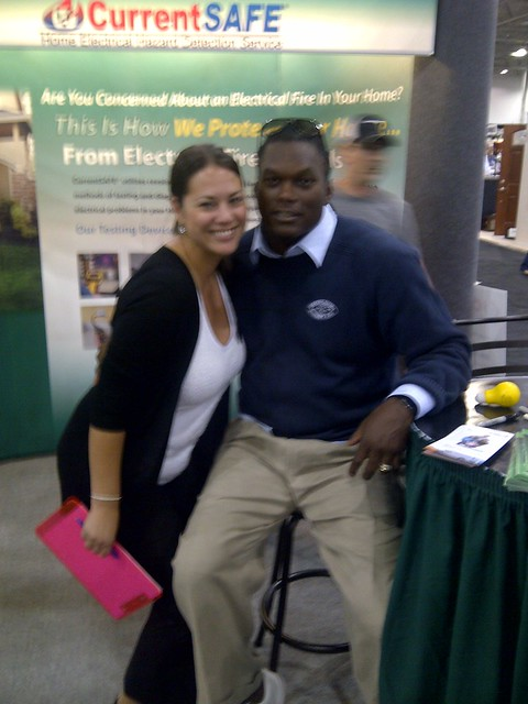 LAVAR ARRINGTON at the Fall Capital home show 2011