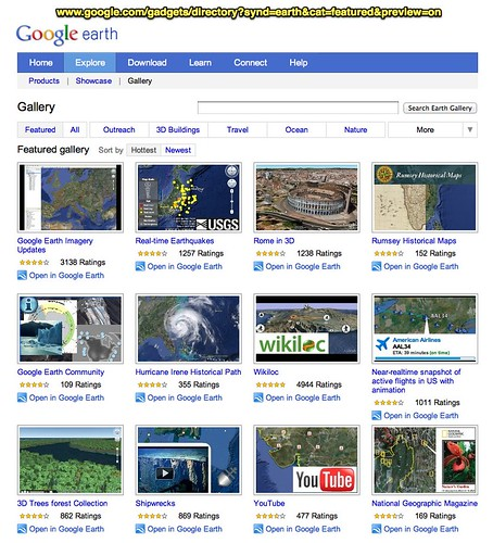 Google Earth Gallery