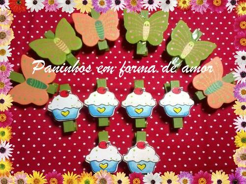 Mini pregador. by ♥Paninhos em forma de amor♥