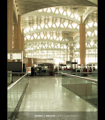 Layers (Bakar_88) Tags: bridge light building architecture canon photography daylight airport asia flickr path columns perspective structure digitalcamera shape terminal3 riyadh saudiarabia triangular ksa andrewashenouda
