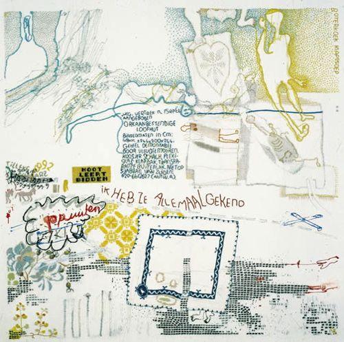 über embroiderers: Tilleke Schwarz