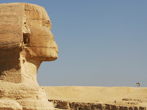 the great sphinx of giza - egypt