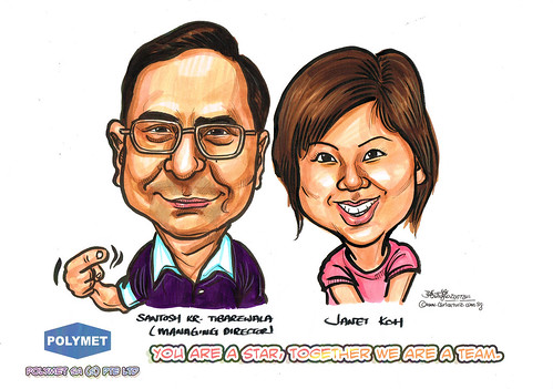 Caricatures for Polymet - 6