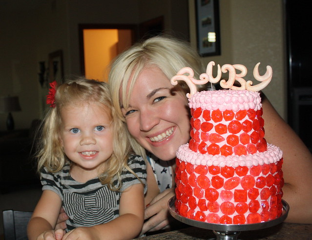 Ruby's Birthday Cake