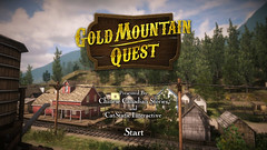 Gold Mountain Quest - Title Screen