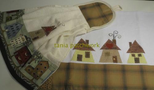 Kit Cozinha Casinhas by tania patchwork