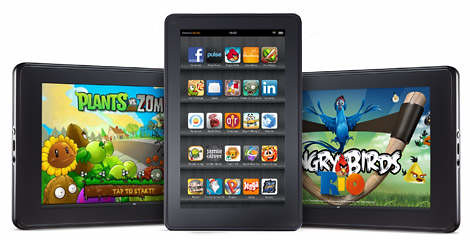 Kindle Fire, Full Color 7? Multi-touch Display, Wi-Fi
