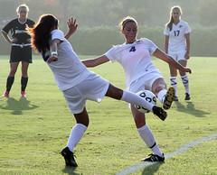 Women's Soccer - Cal Lutheran vs Whittier, September 28, 2011 (NextStepPhoto)
