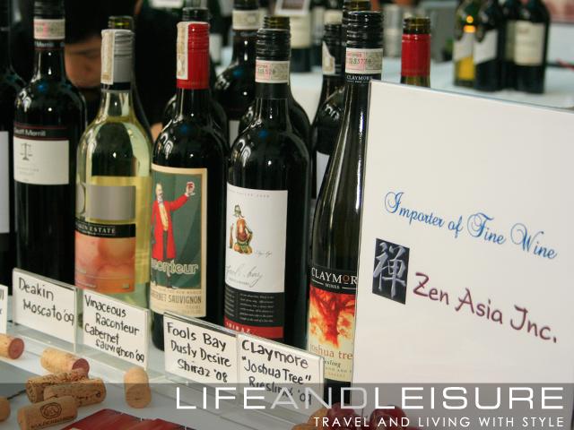 Zen Asia-Enderun Wine Tasting Event