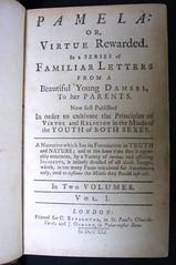 Samuel Richardson, Pamela