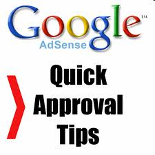 Google Adsense Account Approval Tips Tricks